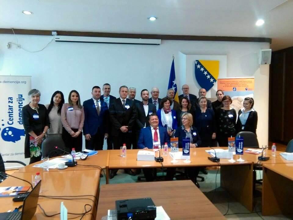 """Stručni ekspertski sastanak pod nazivom """"Demencija u Regionu Zapadnog Balkana i usvajanje Nacionalnih Strategija/planova u borbi protiv demencije"""""""